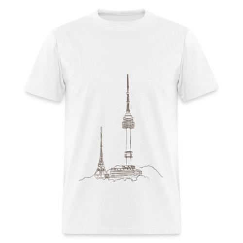 N SEOUL TOWER - Men's T-Shirt