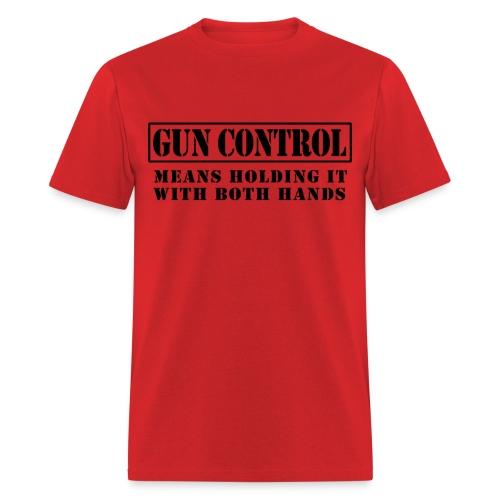 Gun Control Tee - Men's T-Shirt