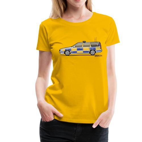 V70 T5 P80 UK Police Wagon - Women's Premium T-Shirt