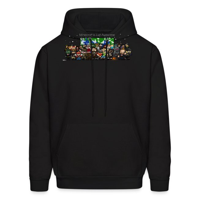 Minecraft Is Just Awesome Hoodie (with finsgraphics logo)