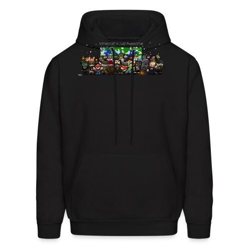 Minecraft Is Just Awesome Hoodie - Men's Hoodie
