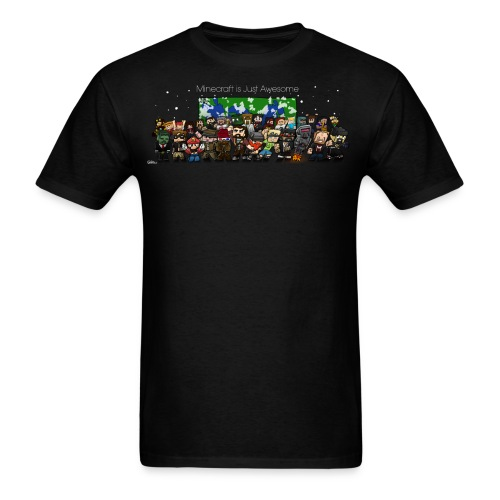 Minecraft Is Just Awesome T-Shirt - Men's T-Shirt