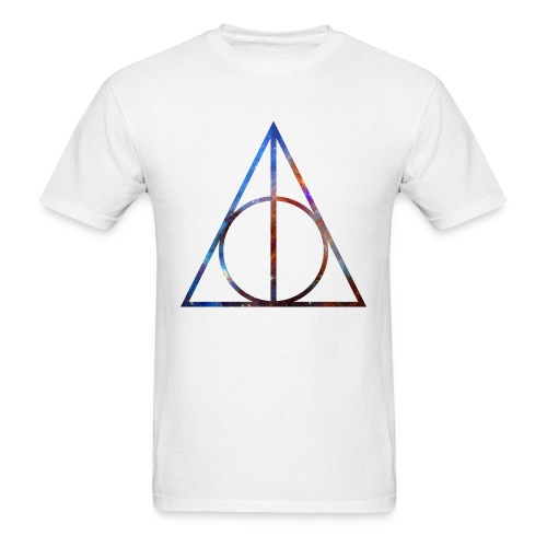 COSMIC DEATHLY HALLOWS - MENS TSHIRT - Men's T-Shirt