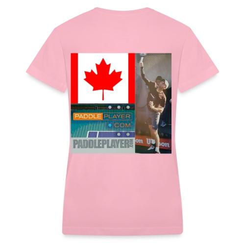 paddleplayer womens - Women's V-Neck T-Shirt