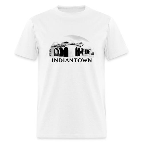 Indiantown White T-Shirt  - Men's T-Shirt