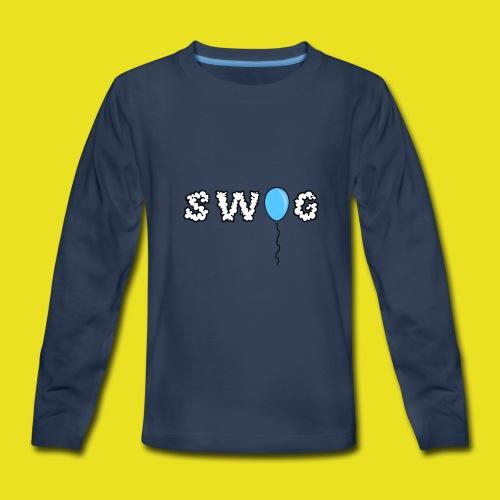 SWOG BALLOON LOGO Long Sleeve - Kids' Premium Long Sleeve T-Shirt