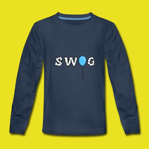 SWOG BALLOON LOGO Long Sleeve - Kids' Premium Long Sleeve T-Shirt