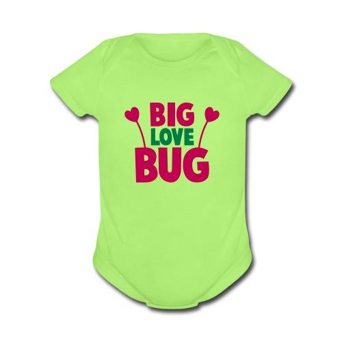 Fantastic Girl - Organic Short Sleeve Baby Bodysuit