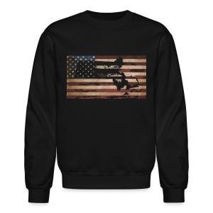 Mass Flag USA - Crewneck Sweatshirt