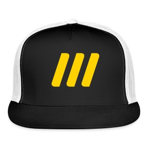 Team World Peace PIT encrypted 3 - Trucker Cap