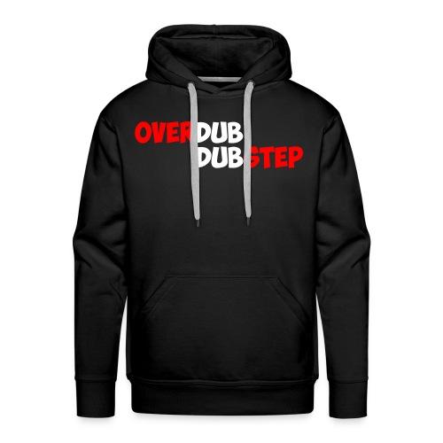 Overdup Dubstep Hoodie [White] - Men's Premium Hoodie