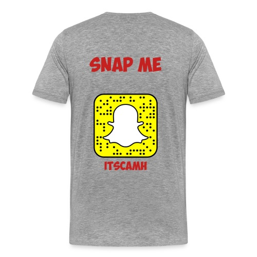 Snapchat T-Shirt - Men's Premium T-Shirt