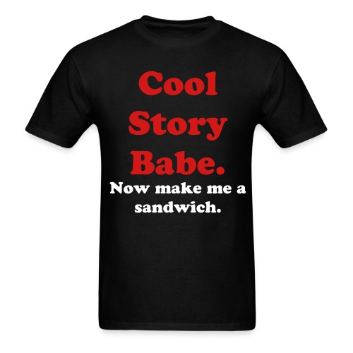 Cool storyt babe - Men's T-Shirt