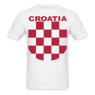 T-Shirts ~ Men's T-Shirt ~ Croatia Hrvatska the real Sahovnica Shirt
