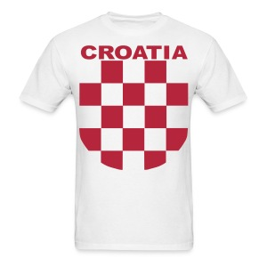 Croatia Hrvatska the real Sahovnica Shirt - Men's T-Shirt