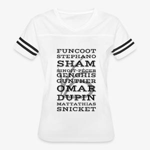 Dubious Disguises - ASOUE - Women's Vintage Sport T-Shirt