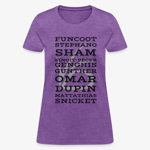 Dubious Disguises - ASOUE - Women's T-Shirt