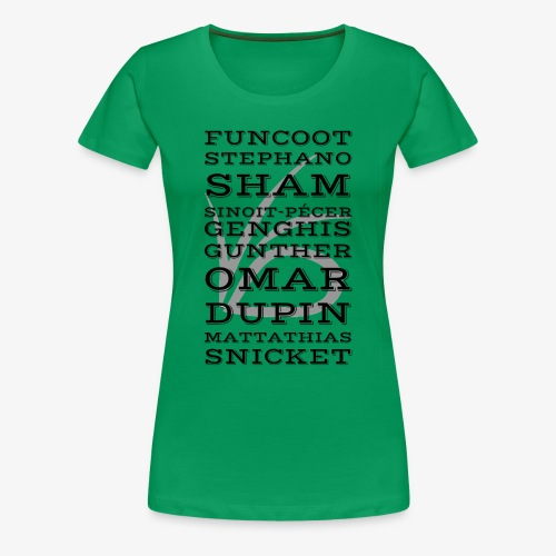 Dubious Disguises - ASOUE - Women's Premium T-Shirt