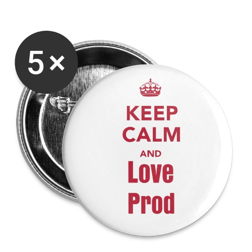 keep calm pin 3 - Large Buttons