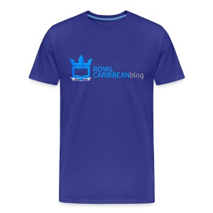 Men's Big & Tall Royal Caribbean Blog Shirt - Men's Premium T-Shirt