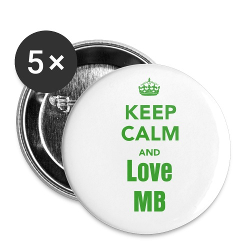 keep calm pin 5 - Large Buttons