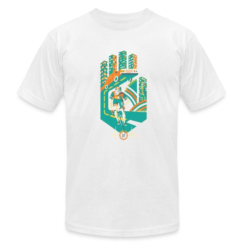 Hand me the Pedal - Men's Fine Jersey T-Shirt
