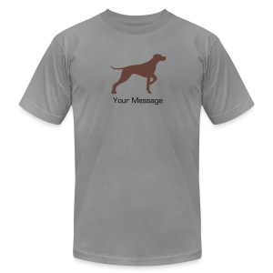 Follow Me To NoDa - Men's T-Shirt by American Apparel