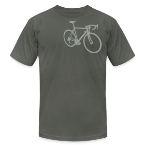 Road Bike - Men's T-Shirt by American Apparel