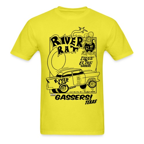 RIVER RAT 55 DESIGN BY NOAH - Men's T-Shirt