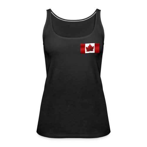 Women's Canada Souvenir Tank Top Canadian Flag Souvenir - Women's Premium Tank Top