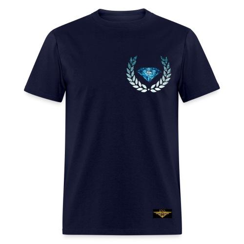 BLUE DIAMOND #100 - Men's T-Shirt