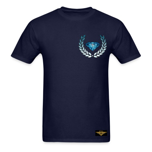 BLUE DIAMOND #100 - Men's T-Shirt