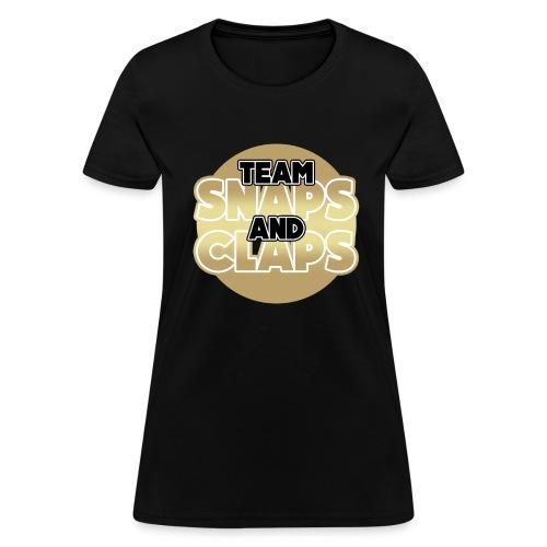 Team Snaps and Claps (GOLD) Women's T-Shirt - Women's T-Shirt