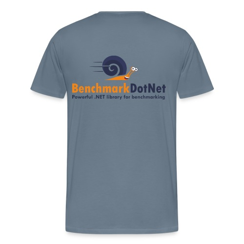 BenchmarkDotNet - Men's Premium T-Shirt