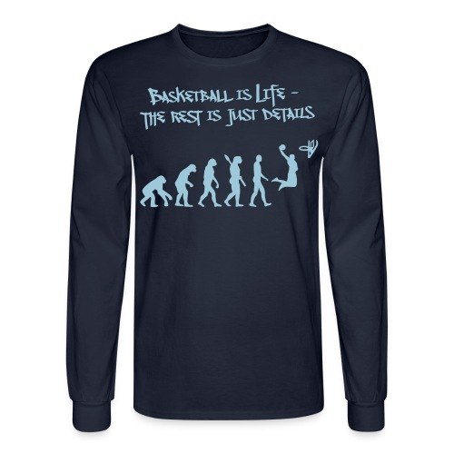 BASKETBALL Evolution  - Men's Long Sleeve T-Shirt