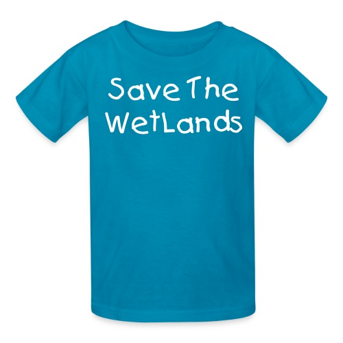 Save The Wetlands Kid Tee - Kids' T-Shirt