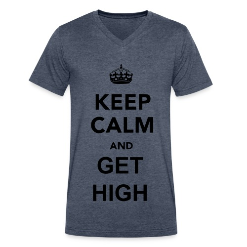 Keep Calm Series. - Men's V-Neck T-Shirt by Canvas