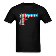T-Shirts ~ Men's T-Shirt ~ American Desert Eagle