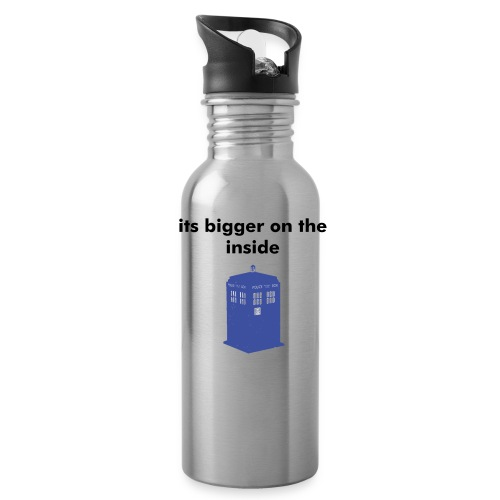 its bigger on the inside water bottle - Water Bottle