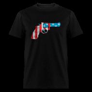 T-Shirts ~ Men's T-Shirt ~ American Revolver Mens Tee