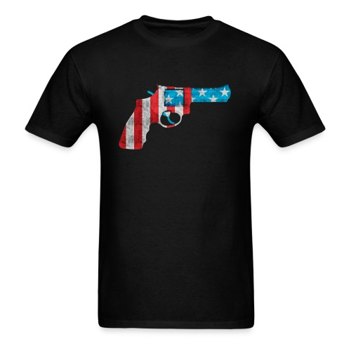 American Revolver Mens Tee - Men's T-Shirt