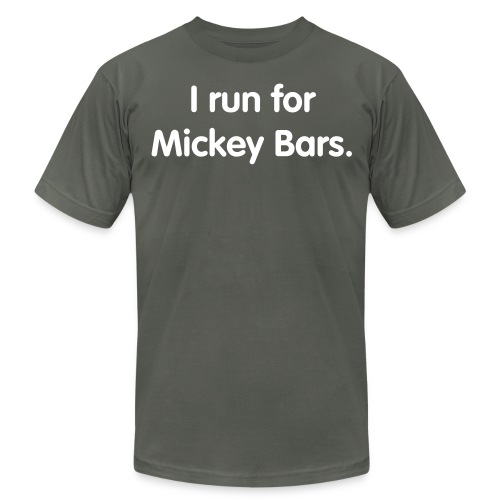 Mickey Bar (Men's Slim Cut) - Men's Fine Jersey T-Shirt