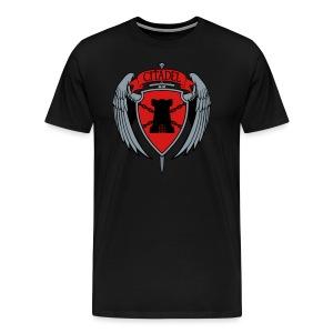 Citadel Crest Men's T-Shirt - Men's Premium T-Shirt
