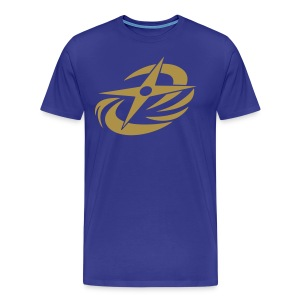 N-N-Ninja Gold! (Gold Glitter XL Sizes) - Men's Premium T-Shirt