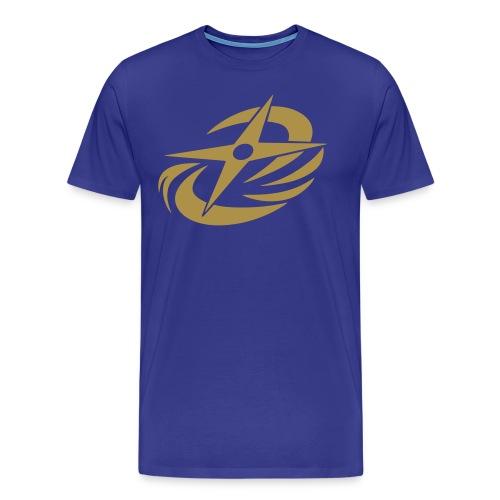 N-N-Ninja Gold! (Gold Glitter XL Sizes) - Men's Premium T-Shirt
