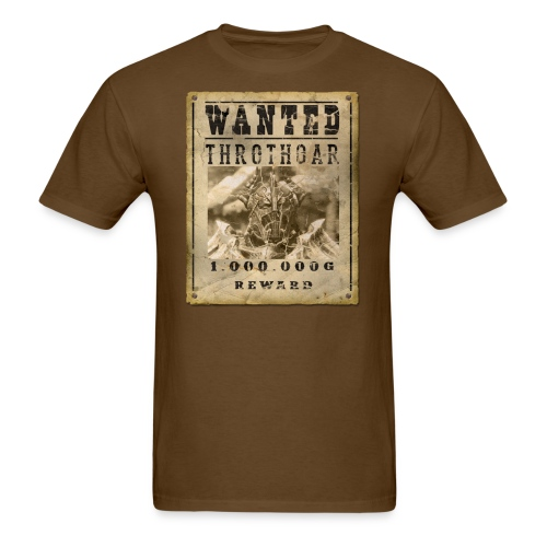 Wanted Poster - Men's T-Shirt