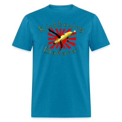 Kickboxing Banana - Men's T-Shirt