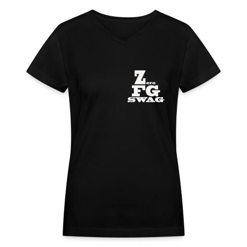 ZeroFG SWAG Bishop Swag tee - Women's V-Neck T-Shirt