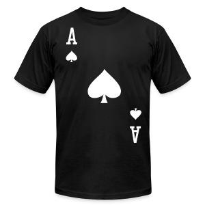 Ace of Spades - Men's Black - Men's Fine Jersey T-Shirt