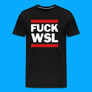 Fuck WSL black - Men's Premium T-Shirt